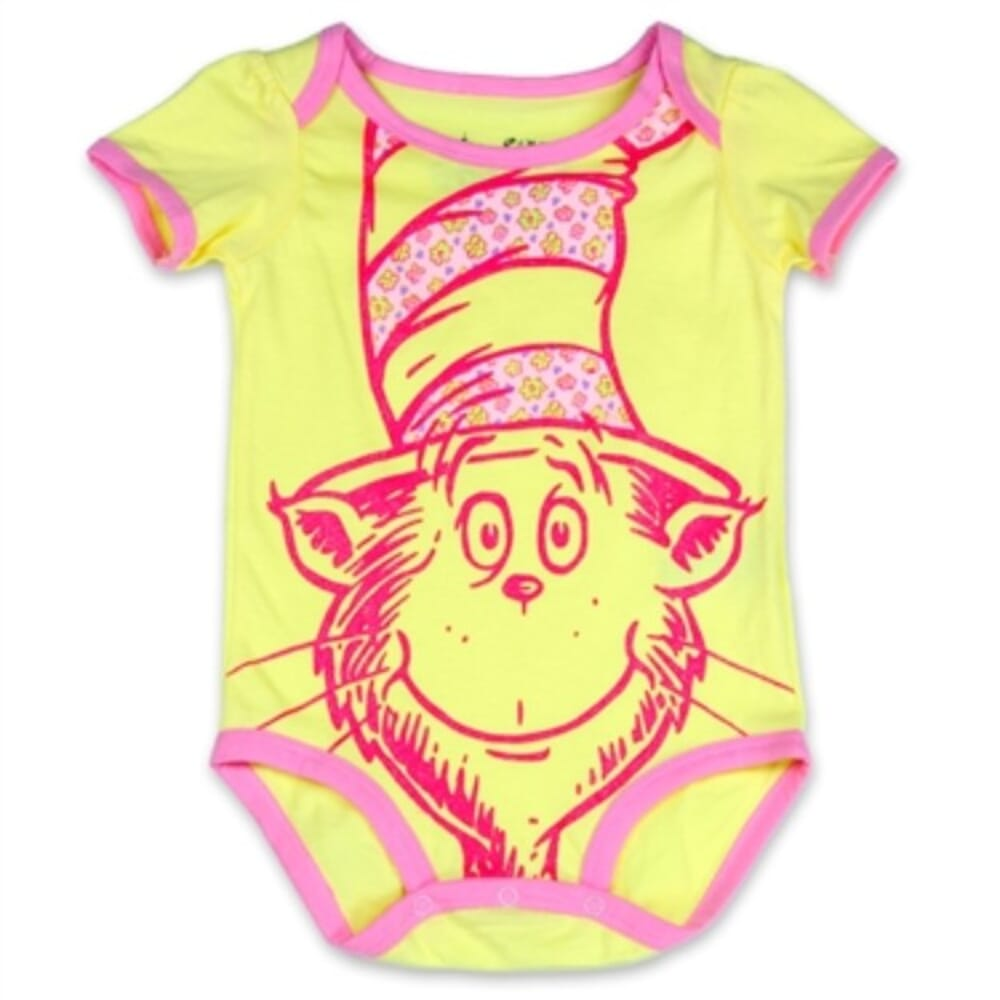 The Cat In The Hat Creeper Dr Seuss Baby Clothes