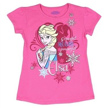 Official ~ Girls Disney FROZEN t-shirt ~ Red//Pink ~ Elsa /& Anna Sisters Forever