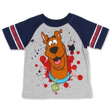 Scooby Doo Boys License T-Shirt
