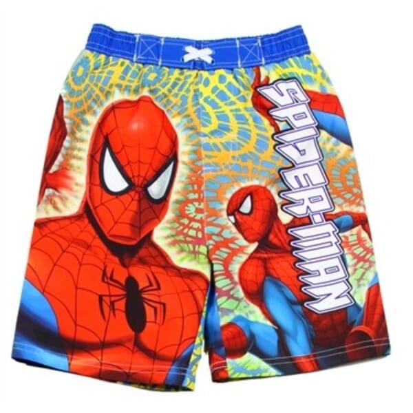 251bfc279d Marvel Comics The Amazing Spider Man Toddler Boys Swim Trunks