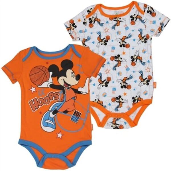 cb8adbb3b Disney Mickey Mouse Lil Hoops Onesie Set Space City Kids Clothing