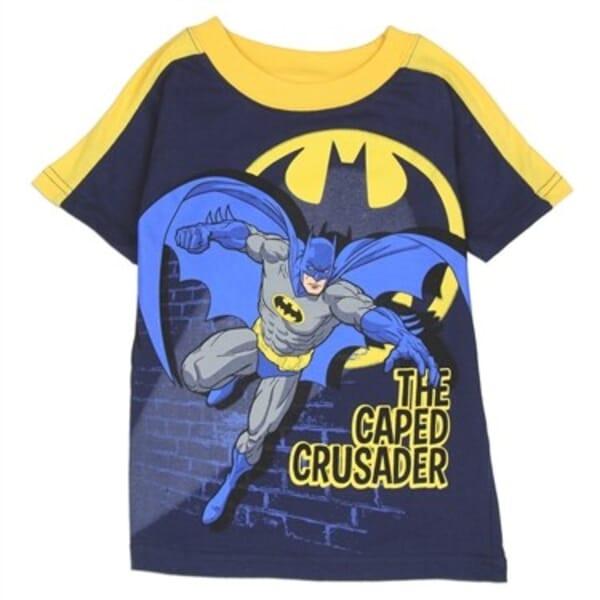 c7d60806 Batman The Caped Crusader Shirt | Batman Toddler Boys Clothes