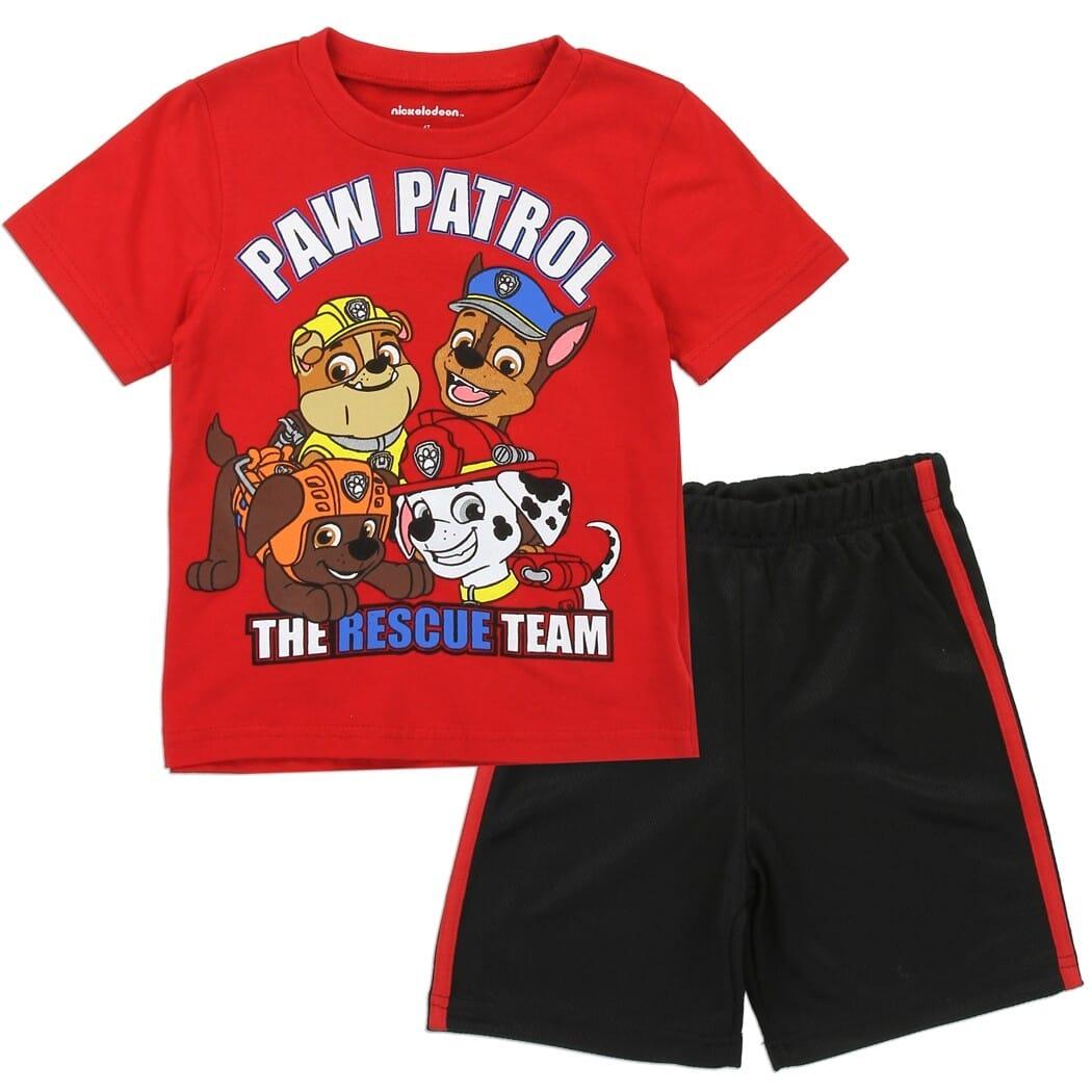 Paw Patrol Boys Chase Pups Team Baseball Jacket