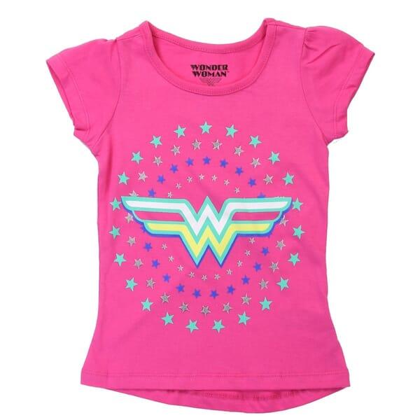 f18750cb DC Comics Wonder Woman Toddler Shirt | Wonder Woman Pink Girls Shirt