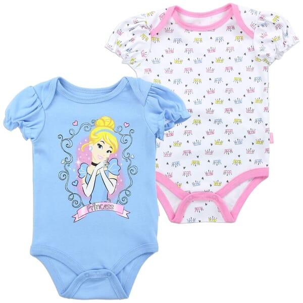 cfbd8fc75 Disney Princess Baby Onesie Set | Disney Princess Baby Clothes