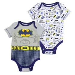 c7adc3b04 DC Comics Batman 2 Piece Onesie Set Space City Kids Clothing