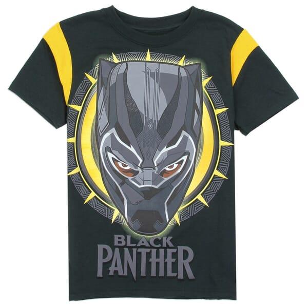 b3500c4b14 Marvel Comics Black Panther Boys Short Sleeve Shirt Space City Kids  Clothing Store. Loading zoom