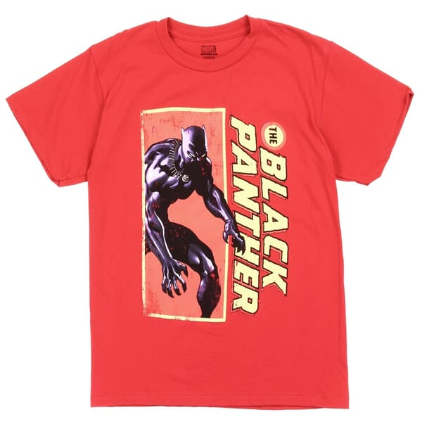 c4db7282 Marvel Comics Superhero The Black Panther Short Sleeve Boys Shirt Space  City Kids Clothing Store. Loading zoom