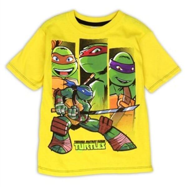 557b01771 Nick Jr Teenage Mutant Ninja Turtles Yellow Boys Shirt Space City Kids  Clothng Store. Loading zoom