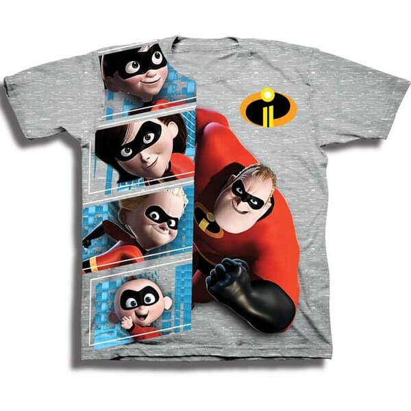 38558766 Disney Incredibles 2 Mr Incredible and Family Toddler Boys Shirt Space City Kids  Clothing Store Conroe. Loading zoom
