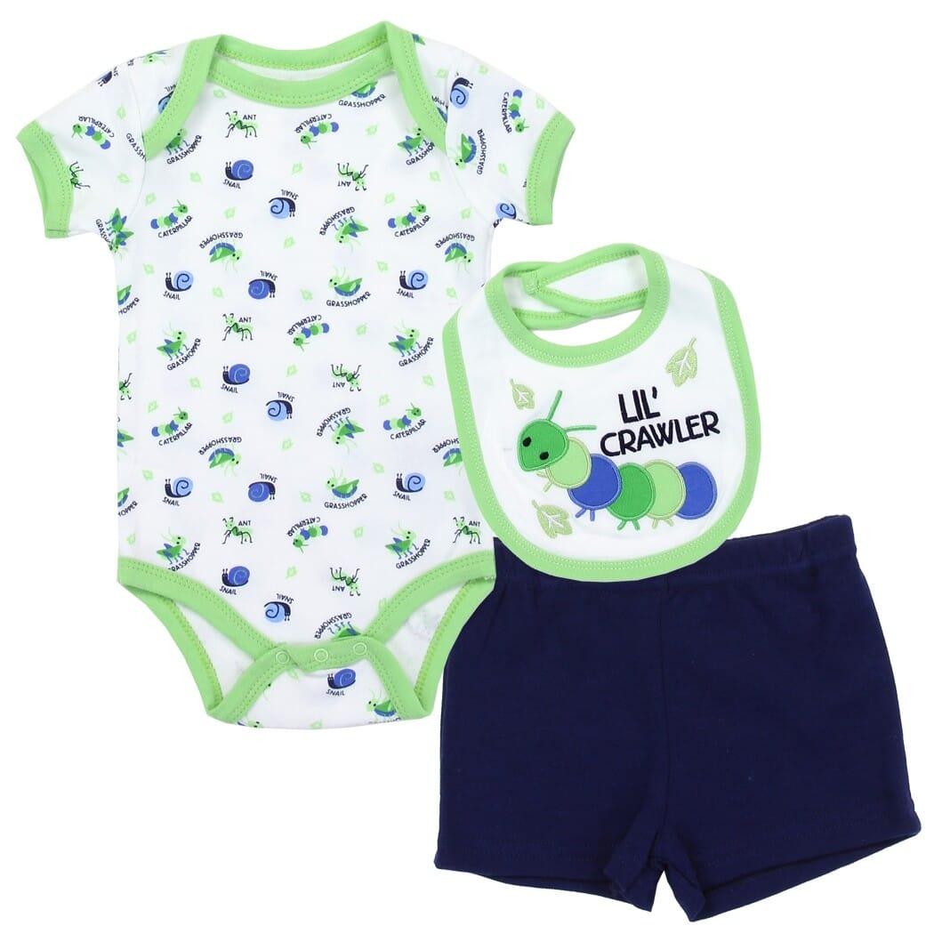 Baby Essentials Boy 3 Piece Set