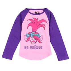 ba2b6b7f6 Dreamworks Trolls Poppy Be Unique Toddler Girls Shirt Space City Kids  Clothing Store