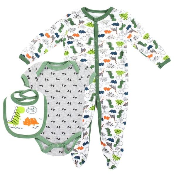 3b548f117 Weeplay Dinosaur Baby Boys 3 Piece Set | Space City Kids Clothing